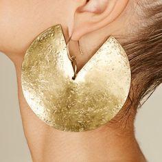 MURSI- Handmade earring Fashion- earrings minimal earrings metalwork jewel