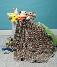 Comfy Kid Hexagon Blanket Free Crochet Pattern LW5226 Baby Blanket Crochet f16e3f37c809