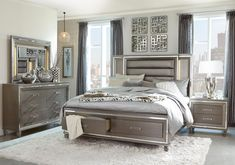 Consider this essential image as well as visit today information and facts on bedroom furniture design Grey Bedroom Set, Bedroom Sets For Sale, 5 Piece Bedroom Set, King Bedroom Sets, Queen Bedroom, Bedroom Decor, Gray Bedroom Furniture, White And Silver Bedroom, Glamour Bedroom