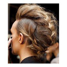 faux hawk braid- must do hairdo Mohawk Hairstyles, Pretty Hairstyles, 2015 Hairstyles, Weekend Hairstyles, Newest Hairstyles, Funny Hairstyles, Simple Hairstyles, Medium Hairstyles, Love Hair