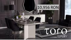 Lima Dining, modern și elegant, este perfect pentru seri speciale și poate fi comandat din Showroom-ul #TORO Luxury, Bd. Pipera 200A.  Rezervari si comenzi: 0746 661 384   Pret LIMA Dining:  - 10.956 RON (tva inclus) incluzand o masa cu 6 scaune.  - 14.393 RON (tva inclus), pret de showroom, incluzand o masa, 6 scaune, 1 bufet si 1 oglinda. Kitchen Island, Luxury, Home Decor, Homemade Home Decor, Interior Design, Home Interiors, Decoration Home, Island Kitchen, Home Decoration