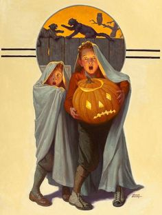 "Vintage Holidays Frederic Stanley; ""Halloween Scare""                                                                                                                                                     More"