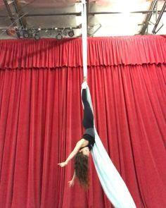 """774 Likes, 11 Comments - AERIAL PHYSIQUE (@aerialphysique) on Instagram: """"Double Ankle Hang Drop!! There's still time to sign up for our upcoming Teacher Training…"""""""