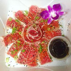 Eat fish and stay young forever  #tuna #tataki #ThaiJo #palmbeach #healthy #sushi #thai #tapas #sushijo by thaijo.cityplace