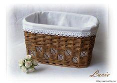 cz - doména z aukce Baskets On Wall, Wicker Baskets, Gift Baskets, Crochet Basket Pattern, Sewing Baskets, Flower Girl Basket, Birch Bark, Paper Basket, Bible Crafts