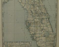 West indies 1902 antique map cuba jamaica santo domingo puerto rico florida map georgia map state maps vintage maps x antique maps 1942 places on world map miami key west orlando savannah augusta gumiabroncs Images