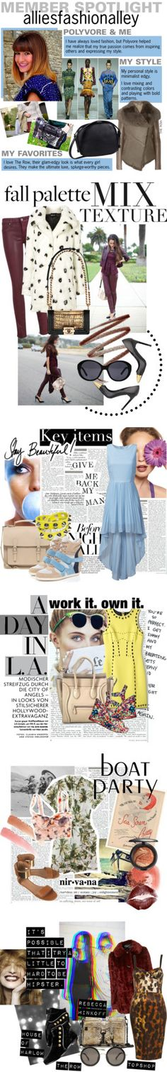 """""""Member Spotlight: Alliesfashionalley"""" by polyvore ❤ liked on Polyvore"""