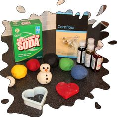 Bicarbonate of Soda Modelling Clay - fun to make AND fun to play with!