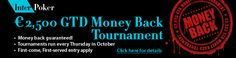 Get your money back! Risk-free tournaments at InterPoker!