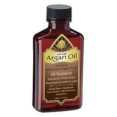 Argan Oil...great for curly hair