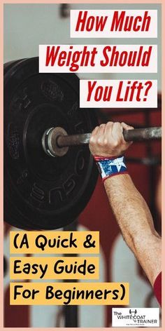 How Much Weight Should I Lift? A Quick & Easy Guide #exercise #workout #strong #fitness Weight Lifting Motivation, Heavy Weight Lifting, Weight Lifting Workouts, Fit Board Workouts, Lift Heavy, Fitness Motivation, Weight Loss, Body Workouts, Fitness Exercises