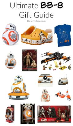 Ultimate Star Wars BB-8 Gift Guide