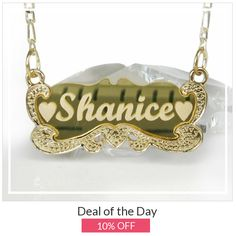 Today Only! 10% OFF this item.  Follow us on Pinterest to be the first to see our exciting Daily Deals. Today's Product: Christmas Personalized Gift Carrie Name plate, Carrie Necklace, Name plate Necklace, Name Necklace, Carrie Name Necklace, Name Jewelry, Sist Buy now: https://www.etsy.com/listing/267110878?utm_source=Pinterest&utm_medium=Orangetwig_Marketing&utm_campaign=personalized%20Christmas%20gift   #etsy #etsyseller #etsyshop #etsylove #etsyfinds #etsygifts #musthave #loveit…