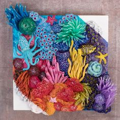 """Wave"" - Coral Reef by Stephanie Kilgast"