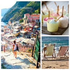 Italian Summers by Lisa. Cinque Terre Creative work by Lisa, Italian Summers Photocredits unknown