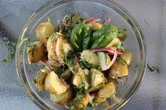 GF Warm Potato Salad | The Gluten Free Vegan