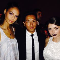 More from the Fashion Fund: Joan Smalls, Prabal Gurung, and The Knick's Eve Hewson. #cvff