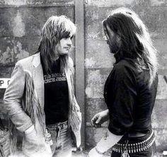 Ozzy shootin the breeze with Lemmy