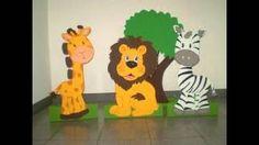 Resultado de imagen para murales infantiles en goma eva