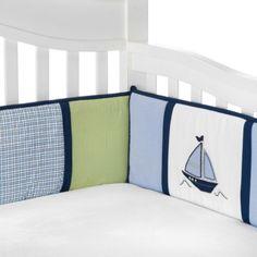 Nautica Kids® Zachary Crib Bumper - BedBathandBeyond.com
