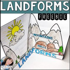 Make learning landforms fun and interactive! This science activity will help your elementary students during instruction while they decorate your classroom. Social Studies Classroom, New Classroom, Teaching Social Studies, Teaching Science, Kindergarten Social Studies, Science Experiments Kids, Science For Kids, Science Projects, Interactive Activities