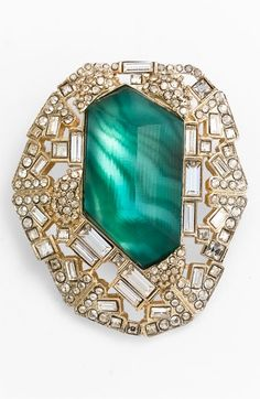 Alexis Bittar 'Teatro Modern' Statement Pin (Nordstrom Exclusive) available at Nordstrom
