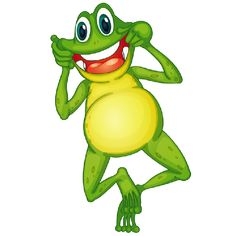 Funny Frog Cartoon Animal Clip Art Images.All Funny Frog Animal Pictures Are On Transparent Background