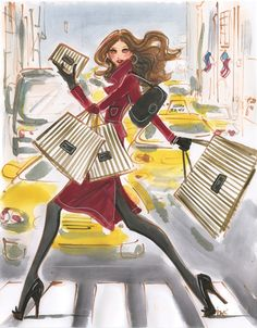 henri bendel illustrations - Google Search