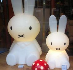 Mr Maria miffy lamp small and large #miffy #mr maria