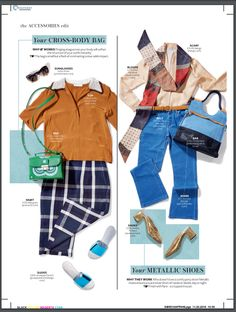 Check out our gorgeous suede #belts, featured in April's Instyle Magazine