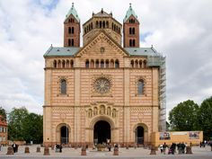 Romanesque Architecture - Speyer Cathedral, Germany, 1030