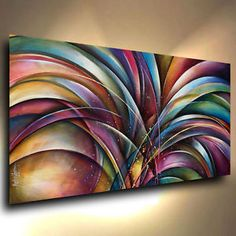 Arte-Abstracto-Pintura-Moderna-Decoracion-contemporanea-Michael-Lang-Certificada-Original