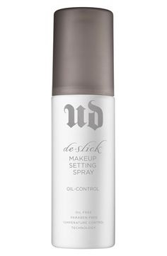 Urban+Decay+Oil+Control+De-Slick+Makeup+Setting+Spray+available+at+#Nordstrom - The Best Setting Spray ( Perfect for Oily skin ) : EA review