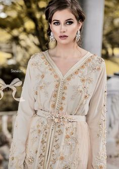 The peach flowertrain dress from The B E L L A Collection now available for rent. With love, J'adore design. Style Oriental, Oriental Fashion, Moroccan Caftan, Red Carpet Dresses, Ao Dai, Traditional Outfits, Hijab Fashion, Evening Dresses, Wedding Dresses