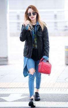 [PRESS PHOTOS] 160921 DARA AT INCHEON AIRPORT HEADING TO MILAN