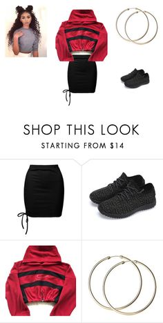 """""""date night outfit"""" by holmes-l on Polyvore featuring Sans Souci and NIKE"""