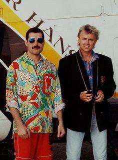 Freddie Mercury  & Roger Taylor                                                                                                                                                      Plus