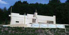 Weiterer Schritt beim Holzhaus Aufbau