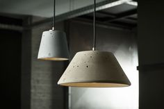Pendant lamp / contemporary / concrete - LUCENDI MONS28 - Urbi et Orbi