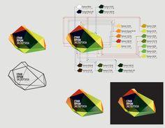 Branding and corporate identity Glavpromekspertizy on Behance