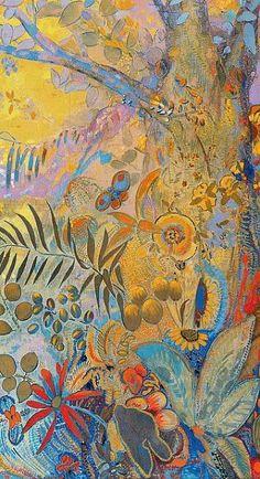 Odilon Redon (1840-1916) - Le Jour (panneau de droite)