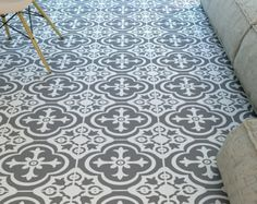 Tegels - Marokkaans Tegels - Vloertegels - Vloermatten - bevloering - tegel Stickers - badkamer Vloeren - keuken Vloeren - 48 - SKU:MOROFL