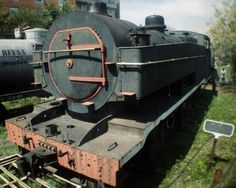 A última locomotiva a vapor comprada pela SPR, fabricada nos States. Poderosíssima e aguardando mais cuidados!