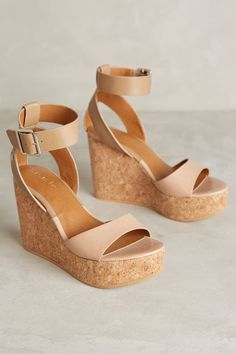 Lien.Do Dulce Wedges - anthropologie.com