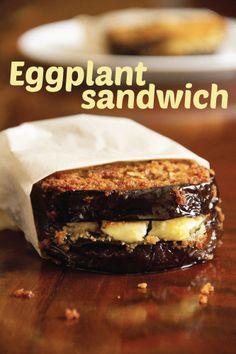fried eggplant sandwiches