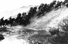 2 In 1939, the Polish army still maintained many cavalry squadrons, which had served them well as recently as the Polish-Soviet War in 1921. A myth emerged about the Polish cavalry leading desperate charges against the tanks of the invading Nazis, pitting horsemen against armored vehicles. While cavalry units did encounter armored divisions on occasion, their targets were ground infantry, and their charges were often effective.