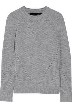 Proenza Schouler | Paneled Wool Sweater