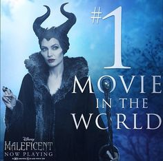 Maleficent #1 movie in the world