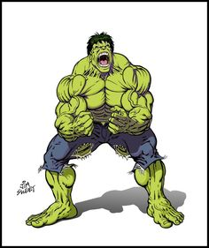 #Hulk #Fan #Art. (HULK drawing 002) By: JIM-SWEET. ÅWESOMENESS!!!™ ÅÅÅ+