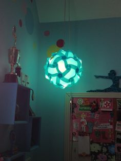 #octoberphotochallege  Day 4: In the air... Infinity light hanging in my room. (It's in the air)